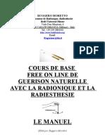 Cours de Guerison Naturelle Avec La Radionique Et La Radiesthesie