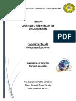 Modelos y Dispositivos de Comunicacion