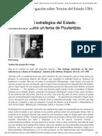 La Selectividad Estratégica Del Estado_ Reflexiones Sobre Un Tema de Poulantzas – Grupo de Investigación Sobre Teorías Del Estado UBA