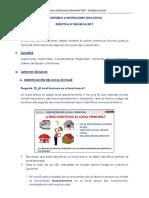Directiva 003 Agosto