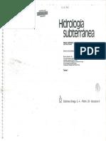 Hidrologia Subterranea I