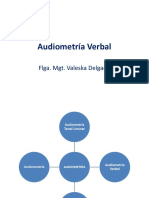 Audiometría Verbal