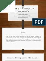 Máximas de Grace y principio de cooperación