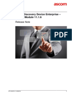 TEMS Discovery Device Enterprise 11.1.6 Release Note