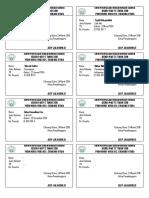 Kartu Peserta Ujian Sekolah Berbasis Nasional