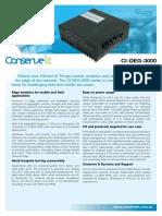 C09.ConserveIt DataA4 CIDEG3000