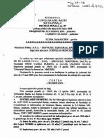 Sentinta Sechelariu Lucas Ifrim Curtea de Apel Bacau 03 Iunie 2008