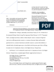Appendix G, Notice of Filing Federal Civil Rights Complaint
