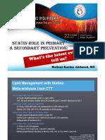 3 - Statin Primary Secondary Mela