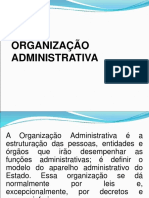 (4) Organização Administrativa - ALUNOS