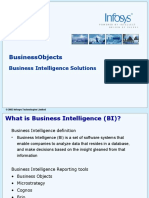 Session 1 - Business Objects Introduction