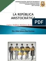 Ahs16 - Tema 04 - Teoria La Republica Aristocratica