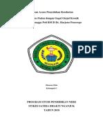 Satuan Acara Penyuluhan Kesehatan CKD