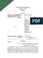 SC Decision Quo Warranto Sereno