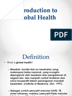 Introduction to Global Health (5)