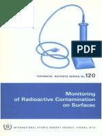 Aiea Monitoring Surface Contamination