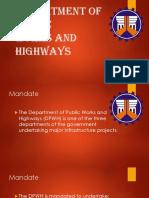 DPWH PowerPoint Presentation