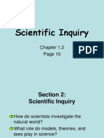 1.2 Scientific Inquiry