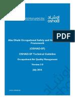 OSHAD-SF - TG - Occupational Air Quality Management v3.0 English
