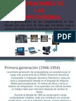 Las 6 Generaciones de Computadoras