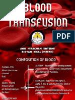 bloodtransfusion procedure SEM 8