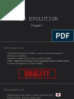 Chapter 01 - TQM Evolution