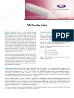 Silt Density Index
