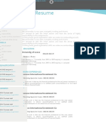 (Resume Suit) Fresh-Style Resume With One-Page 04