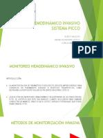 8.Monitoreo Hemodinamico Invasivo Sistema Picco