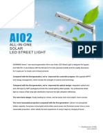 Technical Brochure AIO Solar Street Light SINES