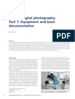 Clinical Digital Photography. Part 1- Equipment and Basic Documentation