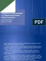 Ingrijirea pacientului cu Hipertensiunea intracraniana.pptx