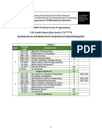 IT study plan (171 and Above)