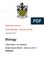 Igcse Revision Guide
