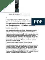 Grupo desenvolve tecnologia nas áreas de fitofarmácia e produtos naturais - jornal da Unicamp 401