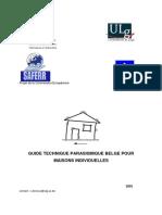 Guide Technique Parasismique Belge
