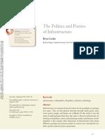 The Politics and Poetics of Infrastructure Larkin