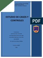 Estudio Casos y Controles
