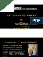 Obturación Del Sistema de Conductos Radiculares