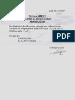 Examen de Remplacement Etudiantes M1GCCCI Module MDS3