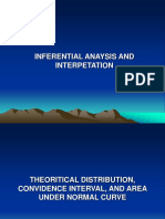 LECTURE 8 (Inferential Analysis)