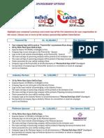 Pharma Expo Sponsorship Options