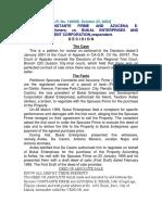 167. Sps. Firme v Bukal