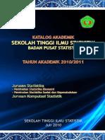 Katalog Akademik STIS 2010-2011