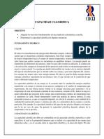 Reporte 7 (Capacidad Calorífica)