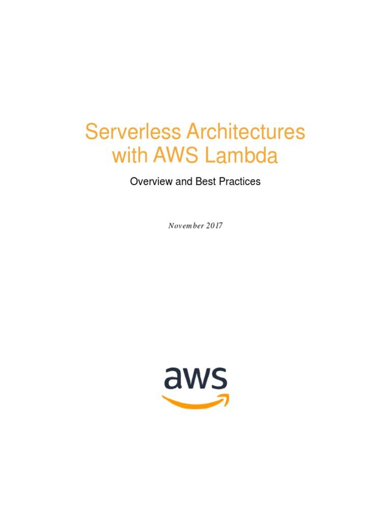 Amazon Cloud AWS | Amazon Web Services | Anonymous Function