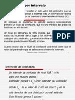 Estimacion Por Intervalos