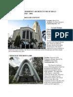 Philippine Arch 1945-1960, 1960-Present