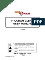 Program Editor User Manual