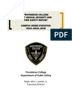 Providence College Safety Report